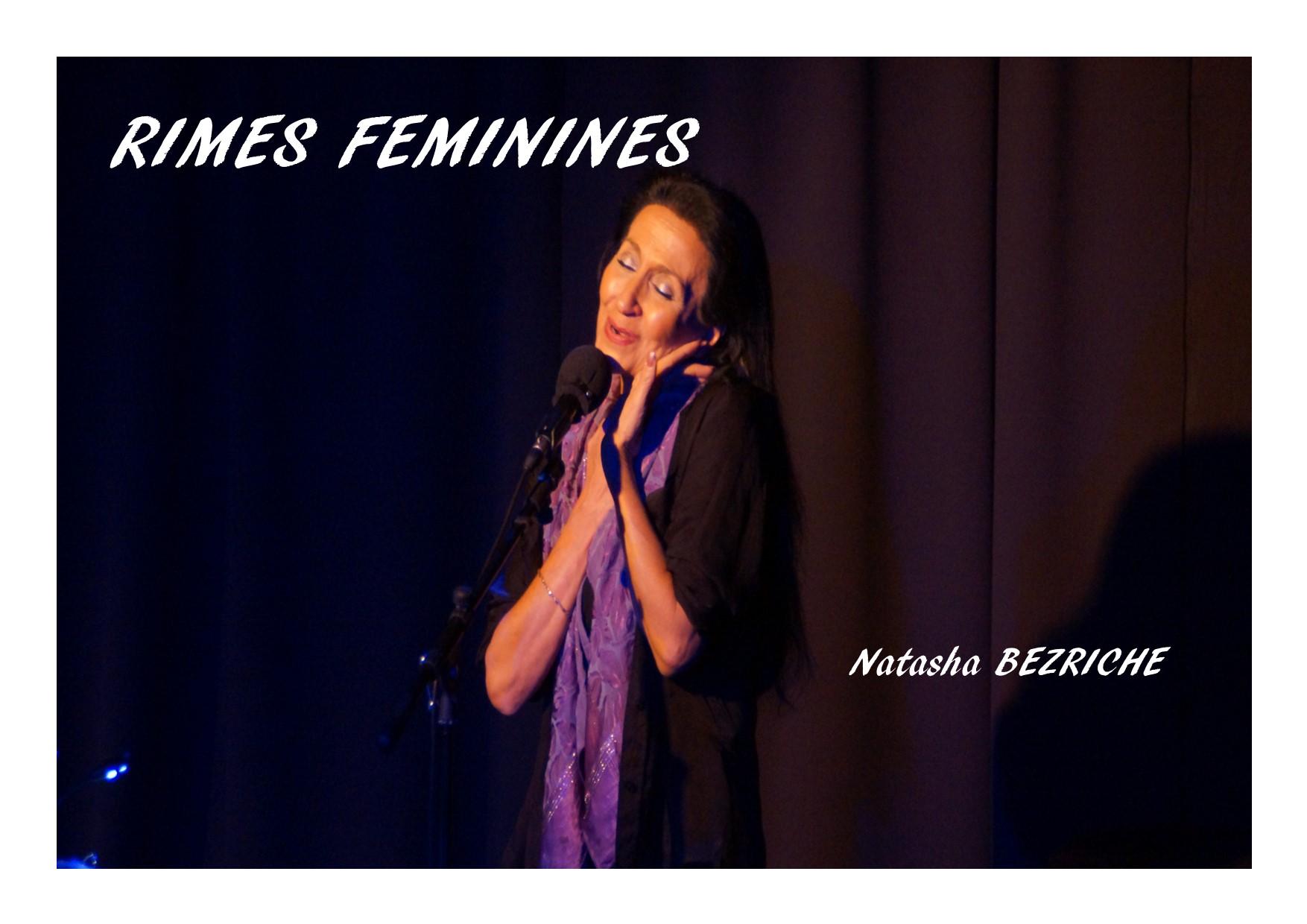 RÉCITAL DE CHANSONS FRANÇAISES : C'est une fille ! Rimes féminines